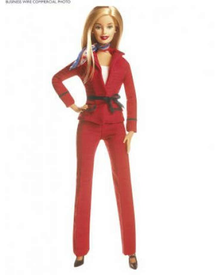 2004 was a big year for Barbie. First, she ran for President of the United States on the Party of Girls ticket.