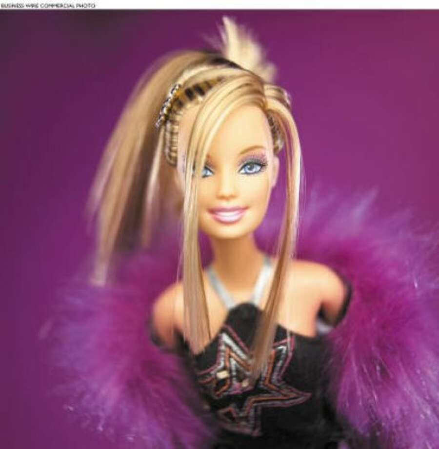 Today's Barbie isn't afraid to go a bit punk...