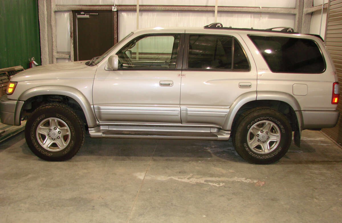 Lettie and John Fisher's 1999 silver Toyota 4-Runner was found at Magnolia Ridge Park on Sept. 22. Photo was provided by Craig Fenigan.