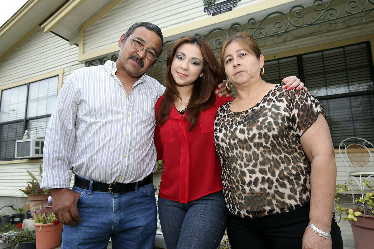 Kimberlin Colorado's parents, Jose and Bertha, made her education a priority when they moved here from Mexico.