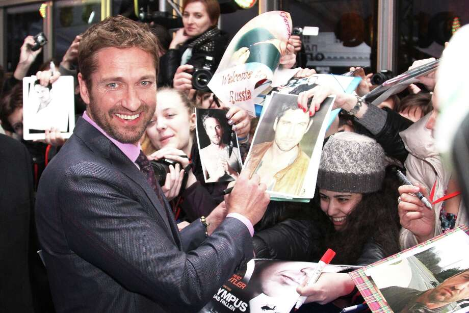 Actor Gerard Butler attends the premiere of FilmDistrict's 'Olympus Has Fallen' at the 5 Zvezd on March 29, 2013 in Moscow, Russia. Photo: Epsilon, Getty Images / 2013 Epsilon