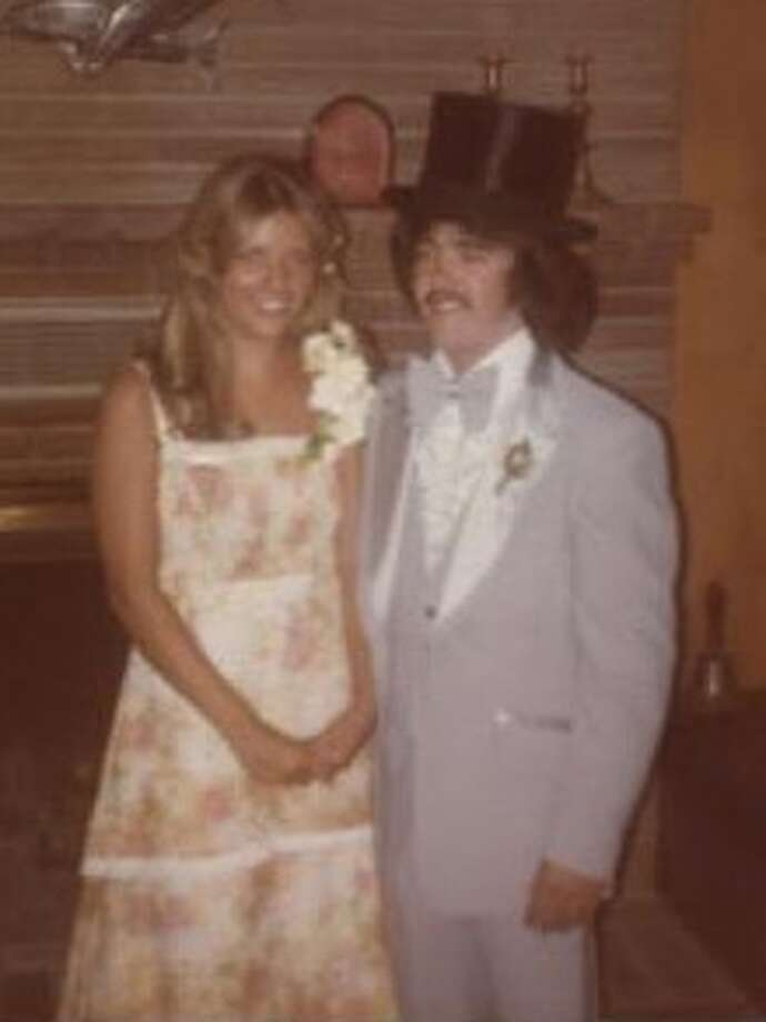 Melissa Ward and date, Madison High School in 1978. Photo: Submitted Photos