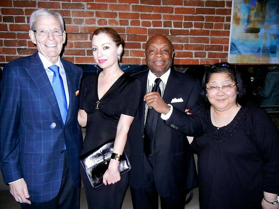 Ex-Mayor Willie Brown and Rose Pak can wield a lot of influence at City Hall. Photo: Catherine Bigelow, Special To The Chronicle
