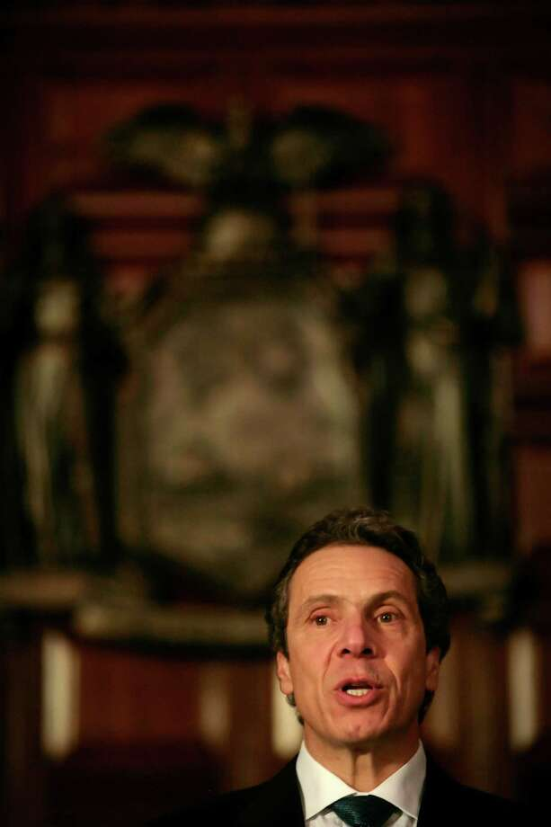 New York Gov. Andrew Cuomo (Nathaniel Brooks/The New York Times) Photo: NATHANIEL BROOKS / NYTNS