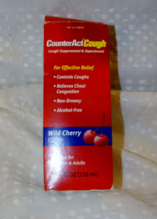 Cough Syrup contains HFCS. Photo by Amanda Pellegrin.