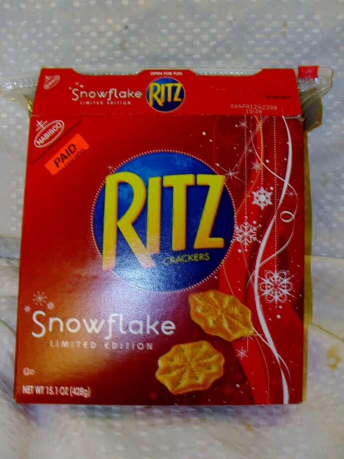 Ritz crackers have HFCS in them. Photo by Amanda Pellegrin.
