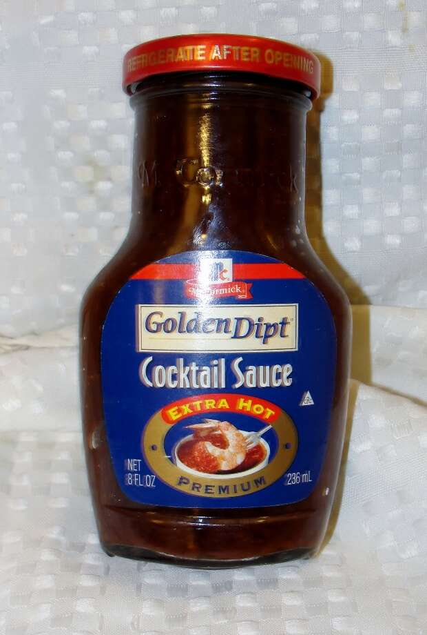 Cocktail sauce has HFCS listed in its ingredients. Photo by Amanda Pellegrin.