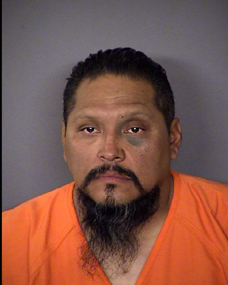 A repeat DWI offender was arrested late Sunday, accused of running over a woman as she stepped out of her pickup.  Humberto Lopez, 42, was northbound in the 600 block of South Brazos Street when he smashed into a Dodge Ram parked on the street's shoulder, hitting Iris Cantu, 30, as she and her husband stepped out of the pickup, Officer Matthew Porter said. Her husband apparently wasn't hit directly, Porter said, but both were rushed to University Hospital with injuries not considered life-threatening. Police said Lopez continued north on Brazos without stopping, then ran a stop sign in front of an officer who pulled him over and arrested him.