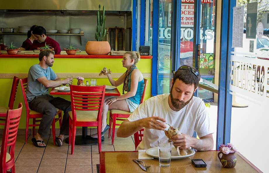 Luncheon customers have an excellent menu to choose from - and the choices under $10 are best. . Photo: John Storey, Special To The Chronicle