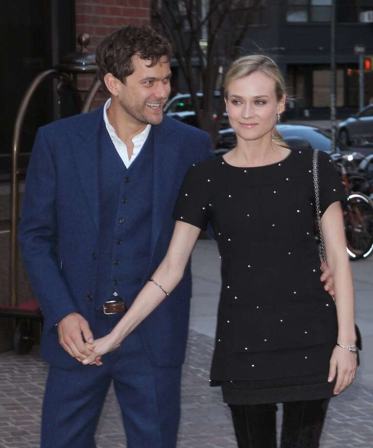 Actors Joshua Jackson and Diane Kruger attend The Cinema Society & Jaeger-LeCoultre screening of Open Road Films' The Host at Tribeca Grand Hotel on March 27, 2013 in New York City. Photo: Jim Spellman, WireImage / 2013 Jim Spellman