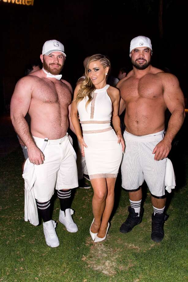 Singer/actress Carmen Electra (C) attends The White Party during Jeffrey Sanker Presents White Party Palm Springs 2013 - Day 2 at the Convention Center on March 30, 2013 in Palm Springs, California. Photo: Vincent Sandoval, WireImage / 2013 Vincent Sandoval
