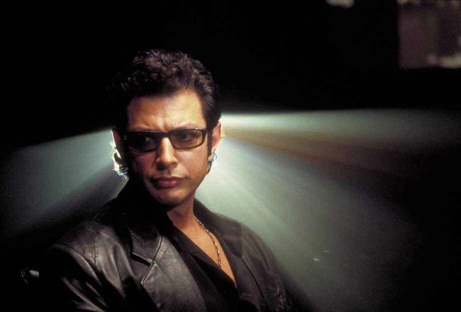 American actor Jeff Goldblum as Dr. Ian Malcolm in a scene from the film 'Jurassic Park.' Photo: Murray Close, Getty Images / 2011 Murray Close