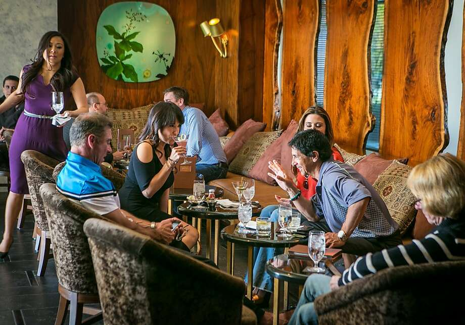 Madera Lounge in Menlo Park's Rosewood Hotel is where Silicon Valley types come for a sip and a nosh. Photo: John Storey, Special To The Chronicle