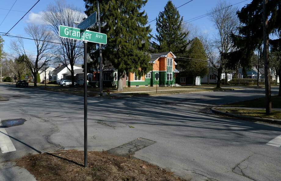 The intersection of Granger and Caroline Street Monday, April 1, 2013, in Saratoga Springs, N.Y.   (Skip Dickstein/Times Union) Photo: SKIP DICKSTEIN / 00021811A