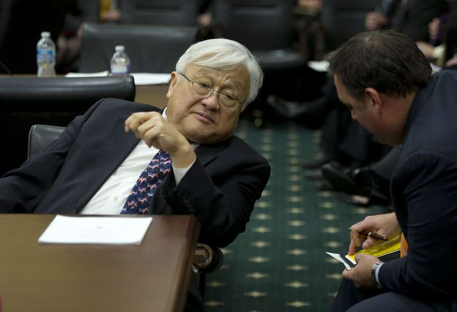 Rep. Mike Honda's San Jose home is no longer in the 17th District; his offices are on the 19th District side of the street. Photo: Chris Maddaloni, Roll Call/Getty Images