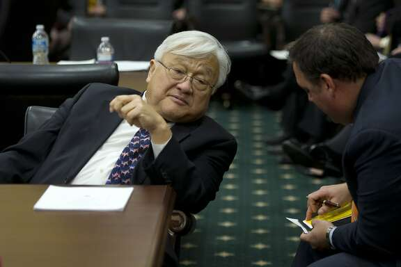 UNITED STATES - JANUARY 23: Rep. Mike Honda, D-Calif., at a House Appropriations Committee meeting to organize for the 113th Congress. (Photo By Chris Maddaloni/CQ Roll Call)