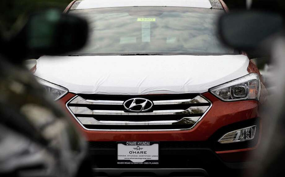 The Hyundai Sonata is one of the rivals for Toyota's Camry and Honda's Accord. Photo: Nam Y. Huh, STF / AP