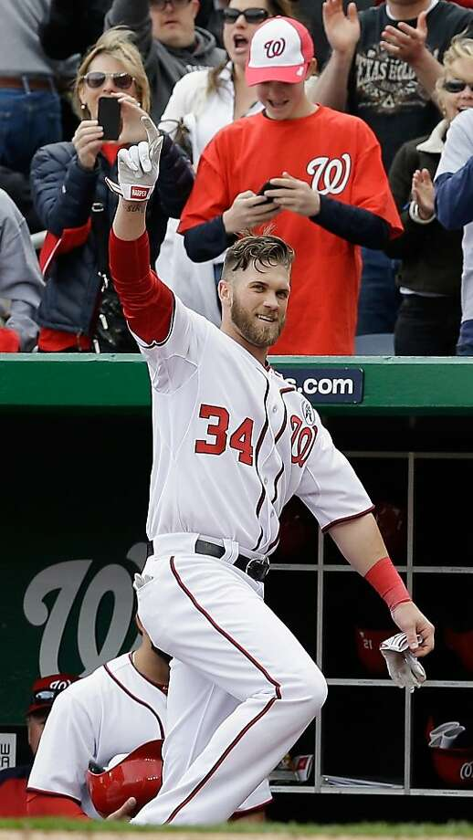 Bryce Harper Photo: Rob Carr, Getty Images