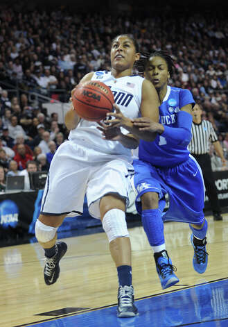 UConn v. Kentucky in the elite eight round of the NCAA Women's Basketball Tournament at the Webster Bank Arena in Bridgeport, Conn. on Monday, April 1, 2013. Photo: Brian A. Pounds / Connecticut Post