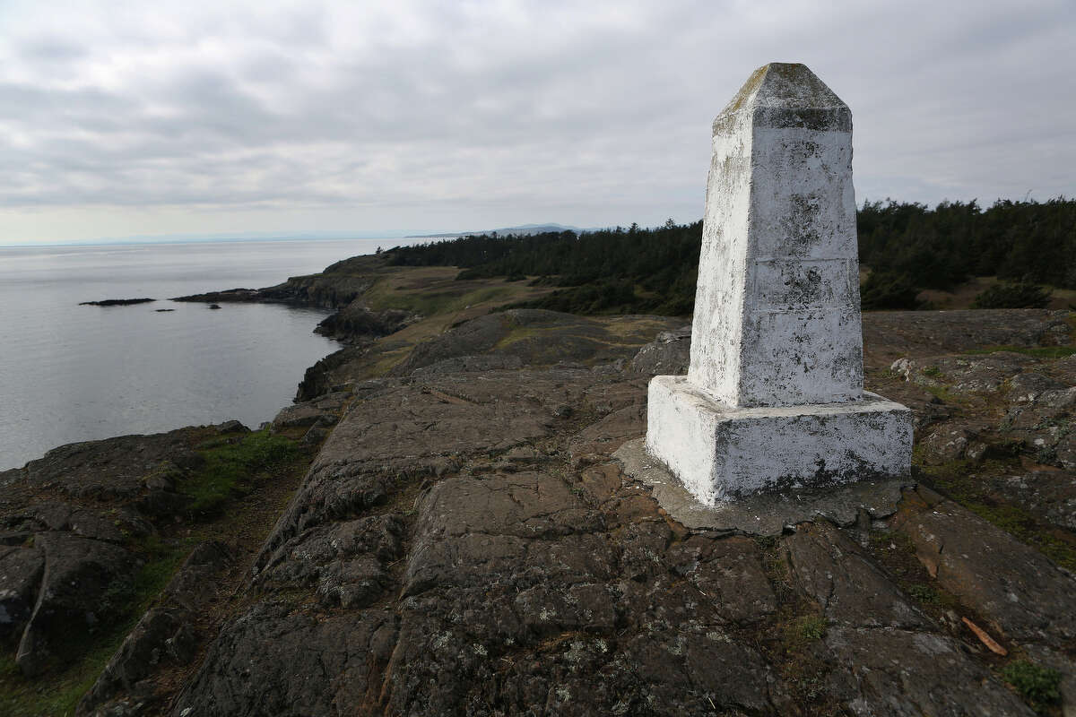 Iceberg Point is shown on Lopez Island as the San Juan Islands National Monument is celebrated on Monday, April 1, 2013.