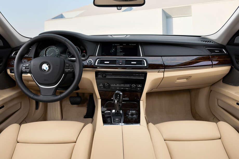 The 7-series is BMW's top of the line. It ranges from the $73,000 740i, with a six-cylinder engine, to nearly twice that for the 760i, with a V12.