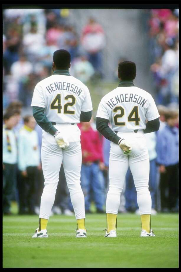You know who both Dave Henderson and Rickey Henderson are. Photo: Otto Greule Jr, Getty Images / Getty Images North America