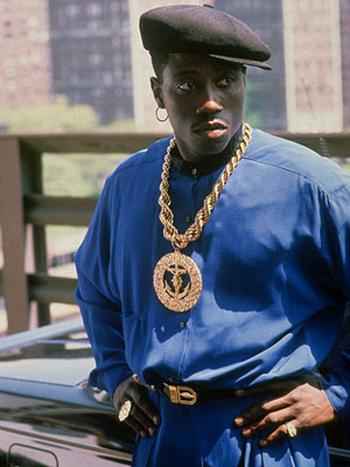 You can name the movie, starring Wesley Snipes, that Mitchell's sordid and violent life inspired. (New Jack City.) Photo: Warner Bros. 1991