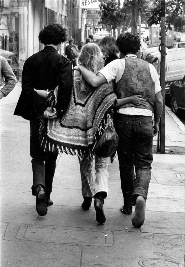 Hippies, the Haight, 1967--just because.  Photo: Sfc