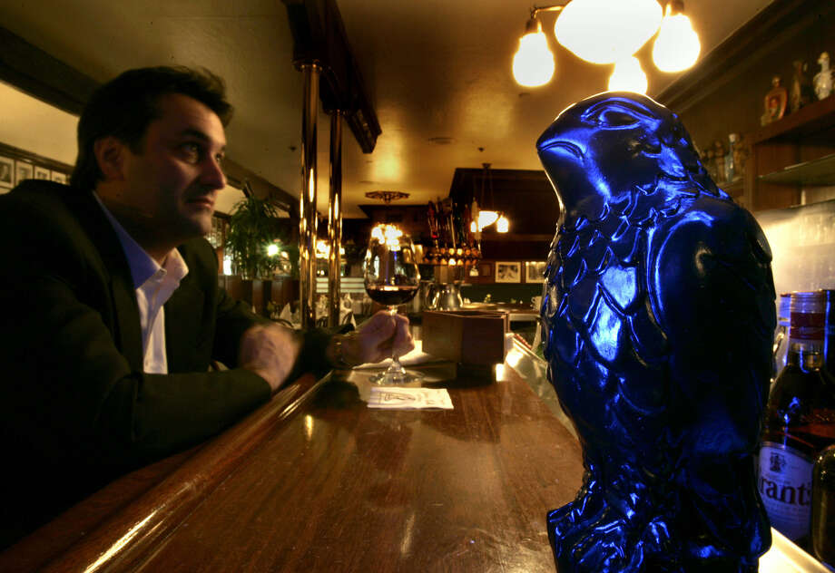 Know where the Maltese falcon is. (John's Grill) Photo: ROBERT GAUTHIER, AP / LOS ANGELES TIMES