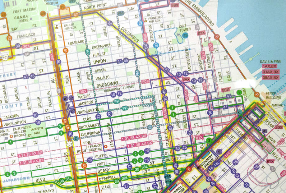 Know all the Muni routes by heart.