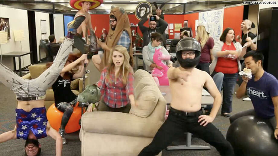 "Google #5: The dance crazy ""Harlem Shake."" (Even Texans fans got in on the action.)"