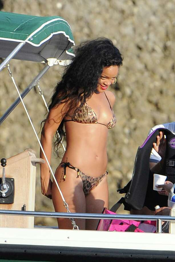 Rihanna, Portofino, 2012. Photo: Jacopo Raule, Getty Images / 2012 Jacopo Raule