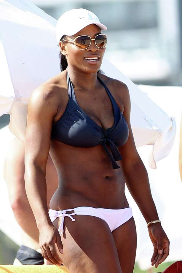 Serena Williams, Miami Beach, 2011. Photo: Christopher Peterson, Getty Images / 2011 BuzzFoto