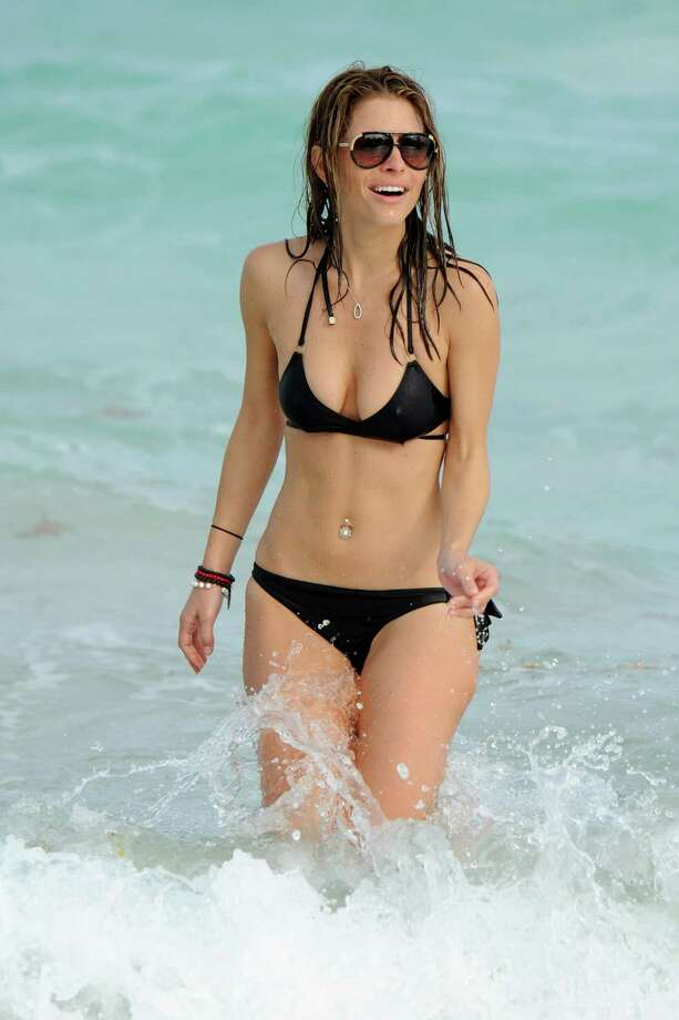 Maria Menounos Miami Beach, 2010. Photo: Uri Schanker, Getty Images / 2010 Uri Schanker