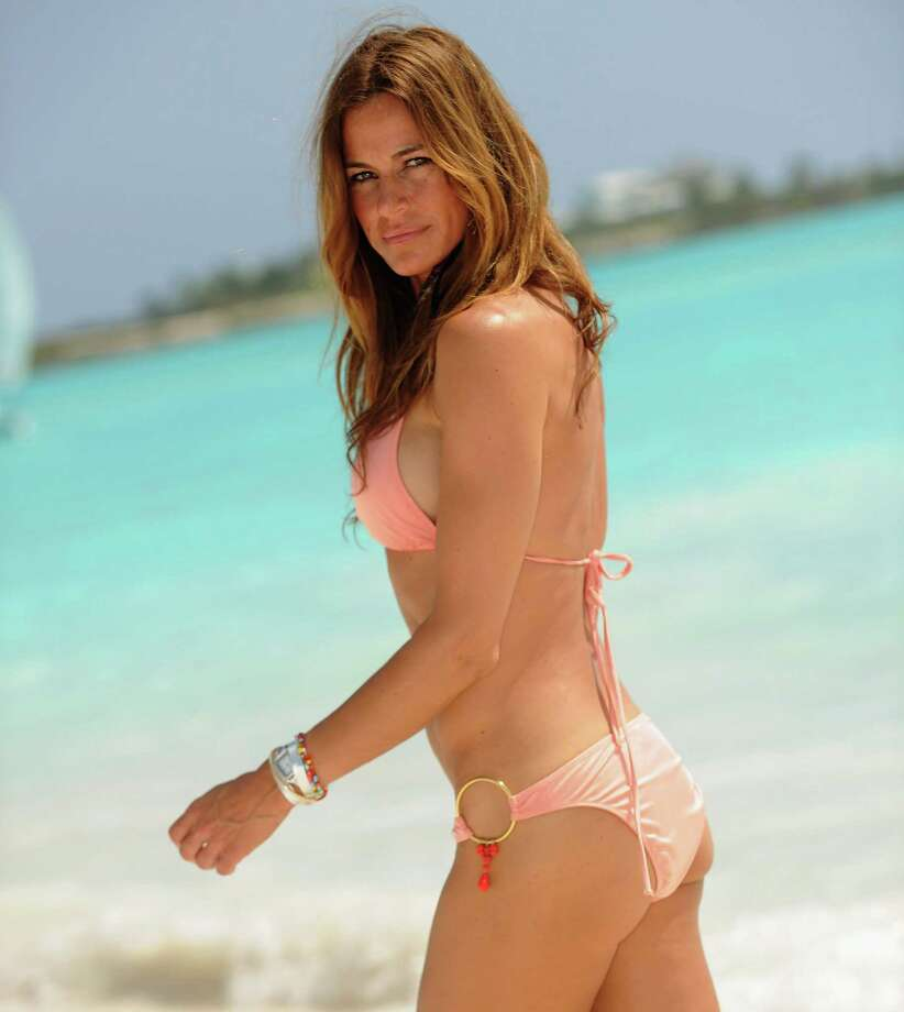 Kelly Killoren Bensimon, Bahamas, 2010. Photo: Dimitrios Kambouris, Getty Images / WireImage