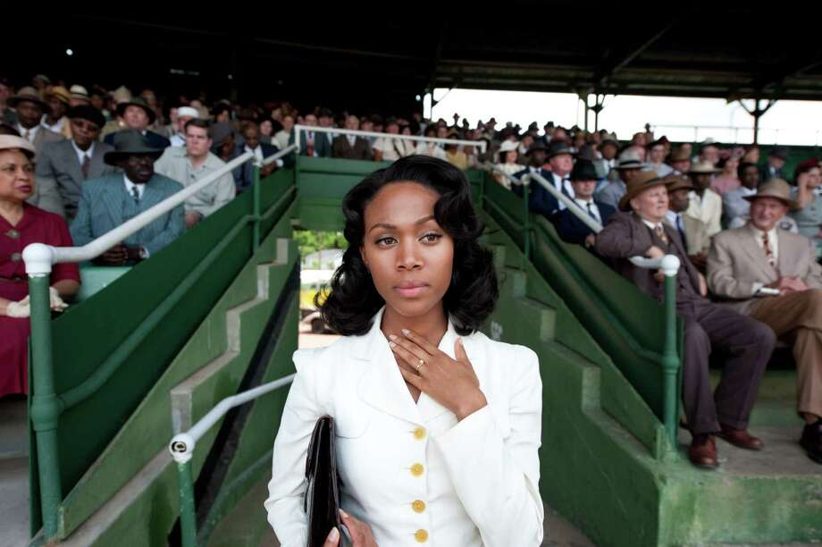 "Nicole Beharie as Rachel Robinson in ""42."" Photo: D. Stevens, Warner Brothers / © 2013 Legendary Pictures Productions LLC"