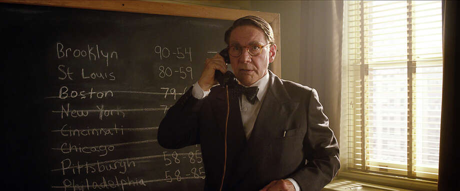 "Harrison Ford as Branch Rickey in ""42."" Photo: Courtesy Of Warner Bros. Picture, Warner Brothers / © 2013 Legendary Pictures Productions LLC"