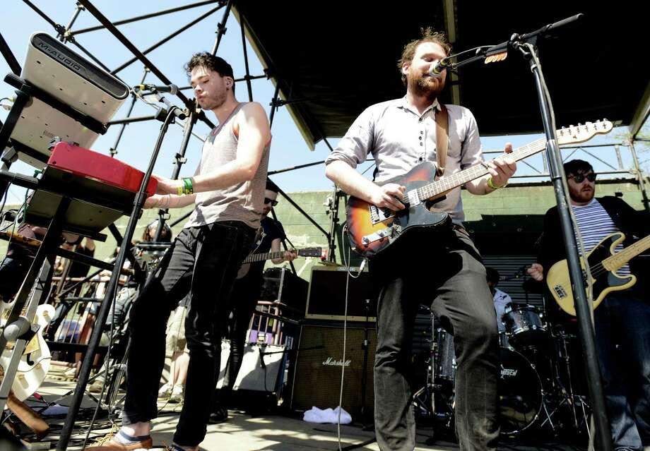 The Frightened Rabbit, pictured on March 16, 2013 in Austin, Texas. Photo: Tim Mosenfelder, Getty Images / 2013 Tim Mosenfelder