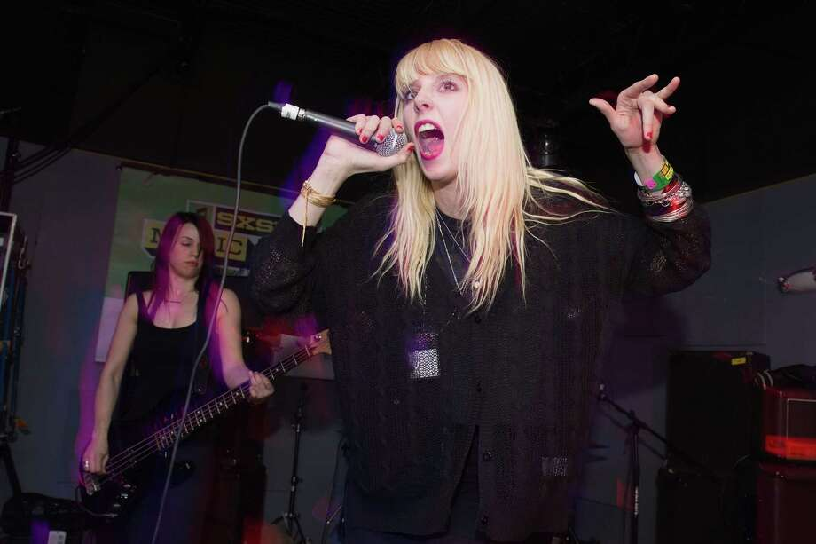 White Lung, pictured March 13, 2013 in Austin, Texas. Photo: Daniel Boczarski, Getty Images / 2013 Daniel Boczarski