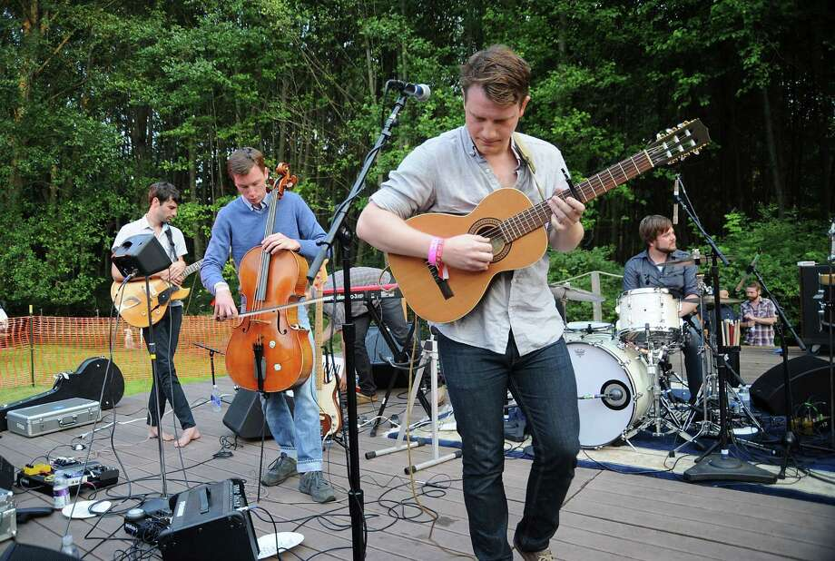 Hey Marseilles, pictured at Doe Bay Music Festival on Aug.10, 2012 in Orcas Island. Photo: Dana Nalbandian, Getty Images / 2012 Getty Images
