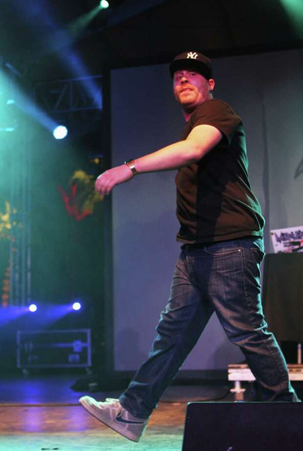Rapper El-P, pictured April 15, 2012 in Indio, Calif. Photo: Karl Walter, Getty Images / 2012 Getty Images