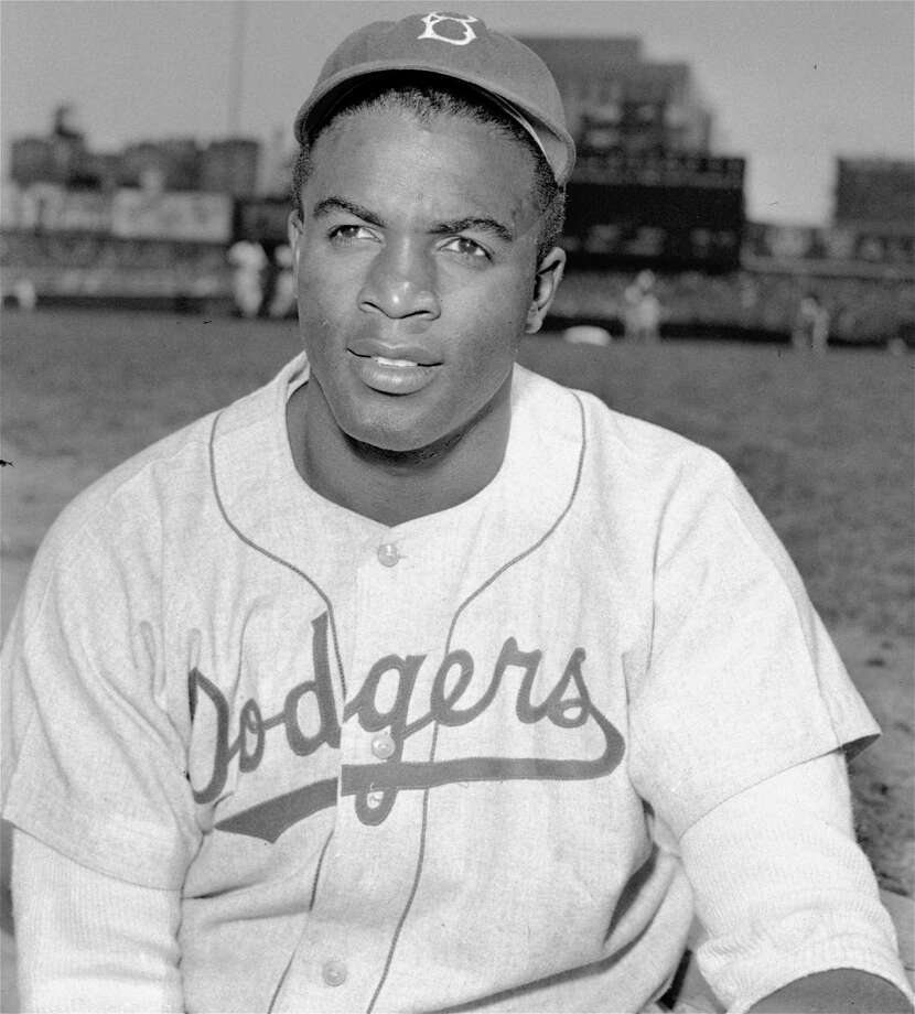 * FILE ** This is an April 18, 1948 portrait of Brooklyn Dodgers baseball player Jackie Robinson. Baseball celebrates Jackie Robinson Day Tuesday April 15, 2008, marking the 61st anniversary of the end of the game's racial barrier. Photo: HH, File / AP1948