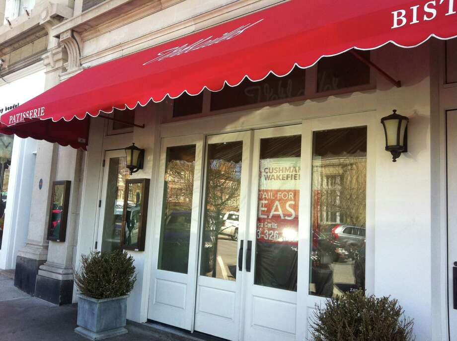 Versailles, the patisserie and bistro at 339 Greenwich Ave,  shuttered its doors with little fanfare on Easter night, March 31, 2013, joining the likes of Restaurant Jean-Louis, which closed in December following a 30-year run on Lewis Street.  Photo: Neil Vigdor / Greenwich Time