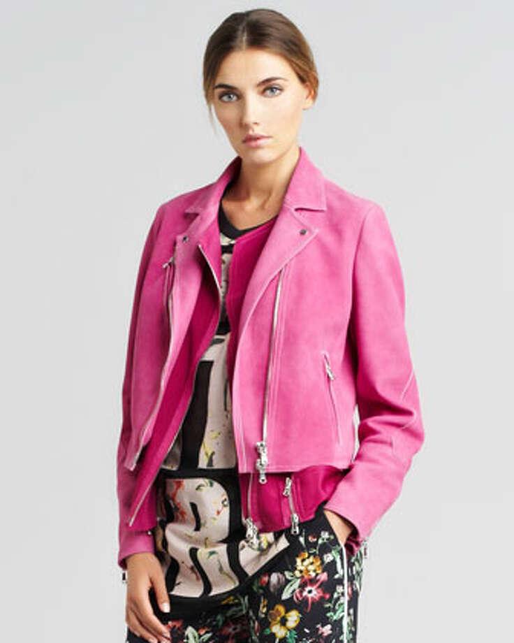 3.1 Phillip Lim Trompe L'Oeil Jacket, $1,500, , via Neiman Marcus.