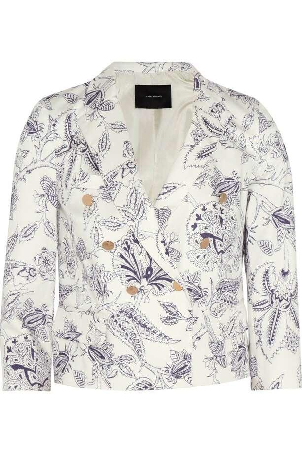 Isabel Marant Lisa twill blazer, $545, via Net-a-porter.com.