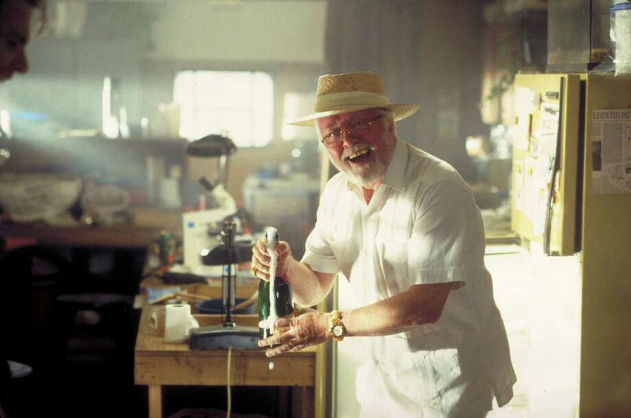 English actor Richard Attenborough as entrepreneur John Hammond in a scene from the film 'Jurassic Park.' Photo: Murray Close, Getty Images / 2011 Murray Close