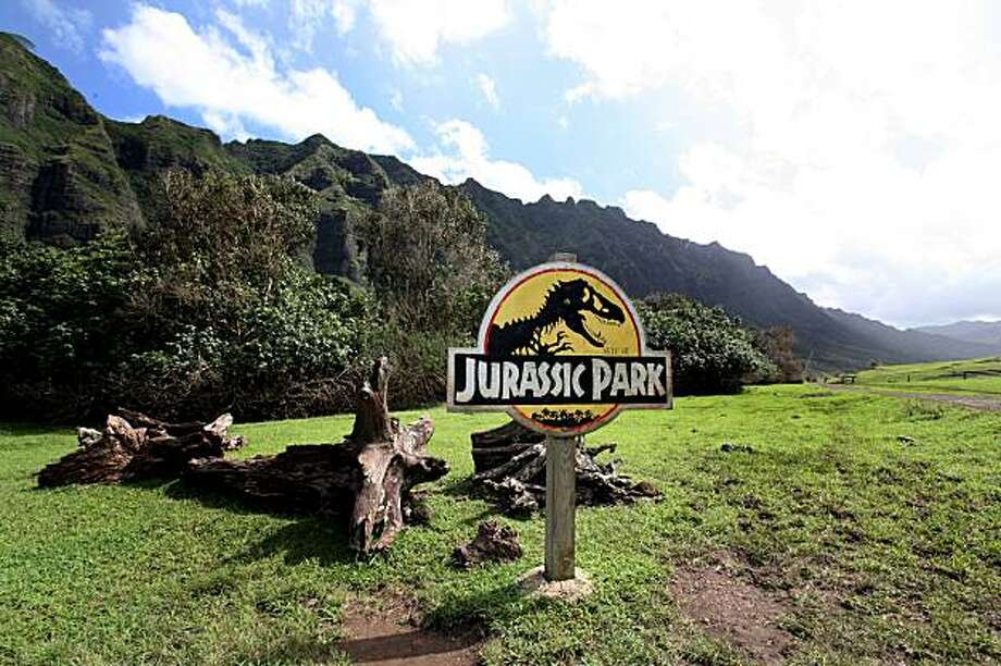 Kualoa Ranch: Kualoa Ranch on Oahu's Windward Side was used in 'Jurassic Park,' 'Windtalkers' and the TV series 'Lost.' Photo: Shuhei Fujita, OVB