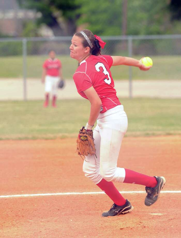 Waltrip pitcher Kennedy Rodriquez has been solid for the Rams, who face Davis at the Delmar Complex Saturday. Photo: Eddy Matchette, Freelance / Freelance