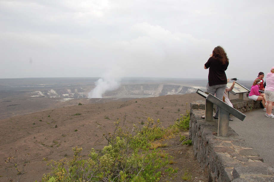 Hawaiian tradition considers Kilauea Volcano's Halema'uma'u Crater to be the home of Pele, but Mark Twain's report for the Sacramento Daily Union called its lava and fumes a vision of hell and noted The smell of sulfur is strong, but not unpleasant to a sinner.