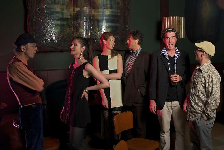Rue '66 (from left): Don Ciccone, Serena Campbell, Carol Pott, Mark Zanandrea, John Stuart, Christian Iribarren. Photo: Zach Lipson